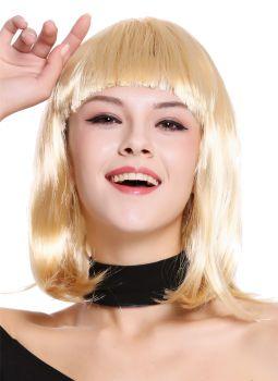 Perücke Longbob Glatt Pony Blond Modell 0073 3 Dress Me Up Der