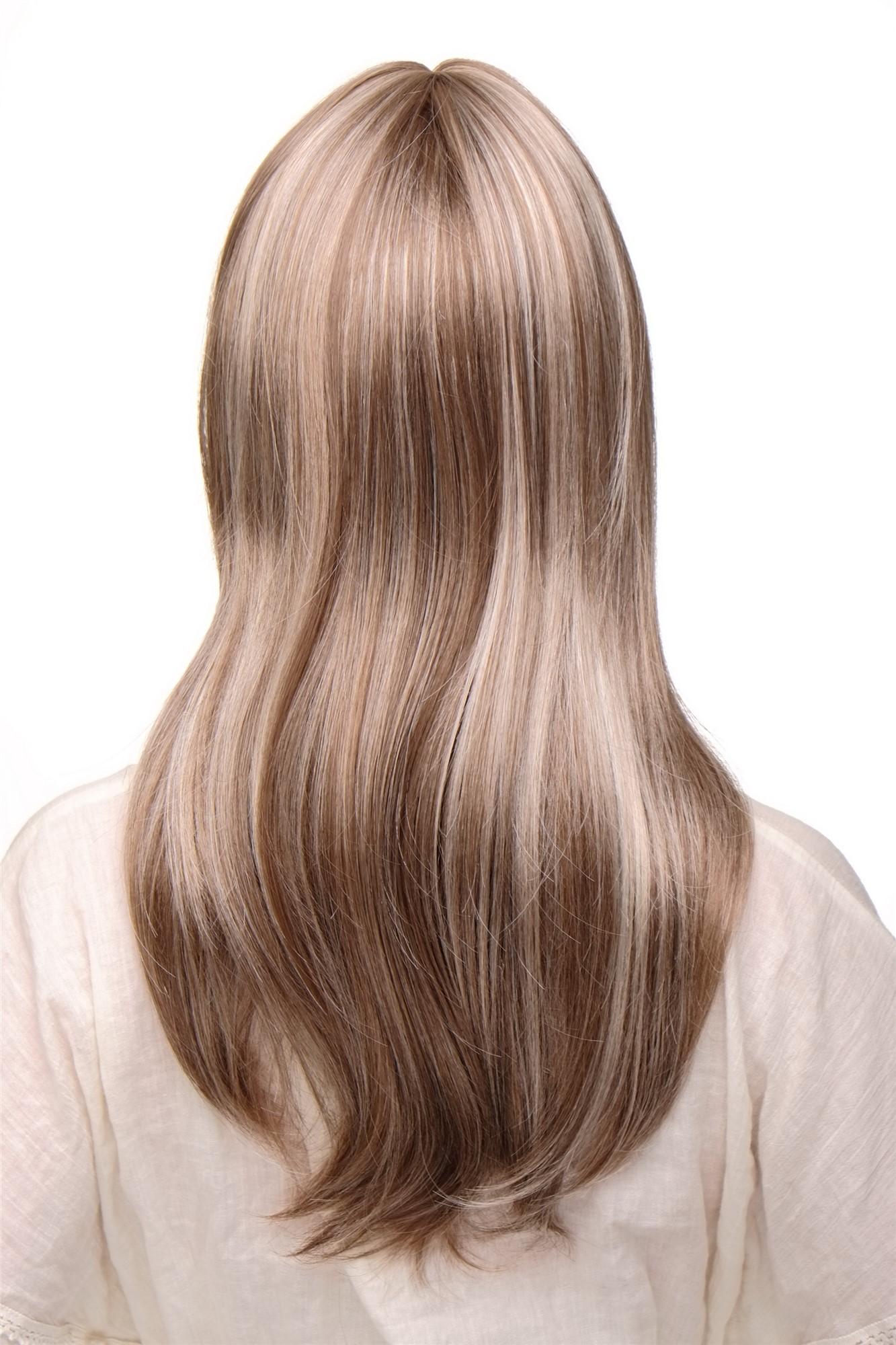 Bilder braun blonde strähnchen Frisuren Bilder