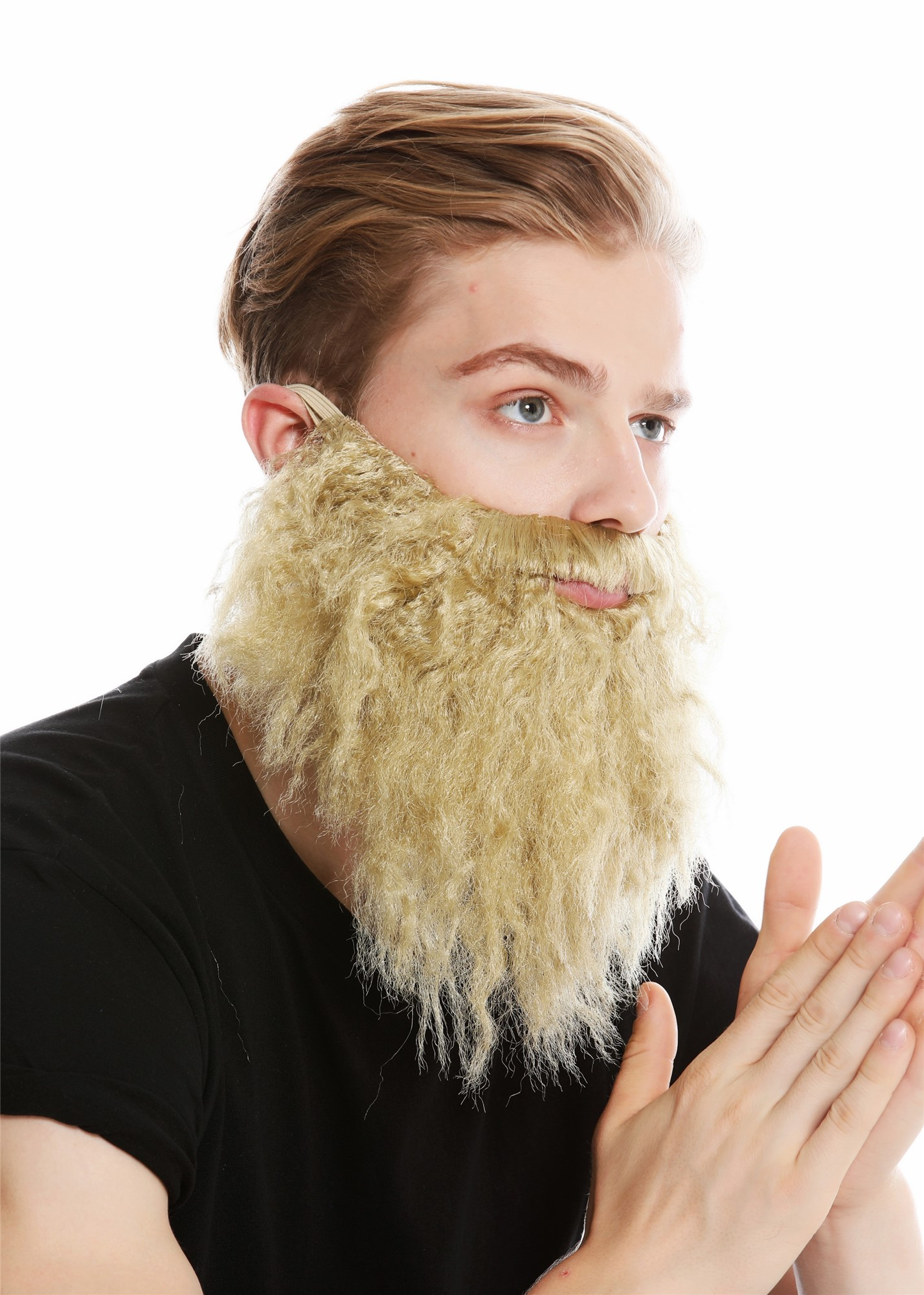 Bart Vollbart Blond Räuber Prophet Hipster Modell